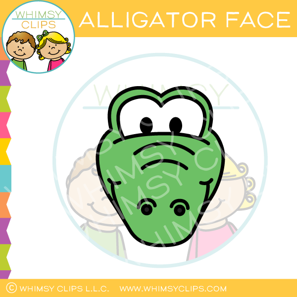 600x600 Animal Face Clip Art , Images Amp Illustrations Whimsy Clips