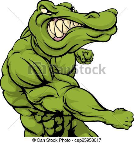 441x470 Cartoon Crocodile Clipart Alligator Crocodile Ou Combat Mascotte