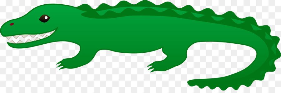 900x300 Alligator Crocodile Cartoon Animation Clip Art