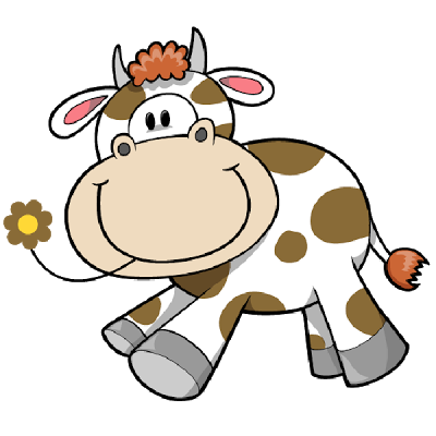 400x400 Cartoon Clipart Farm Animal