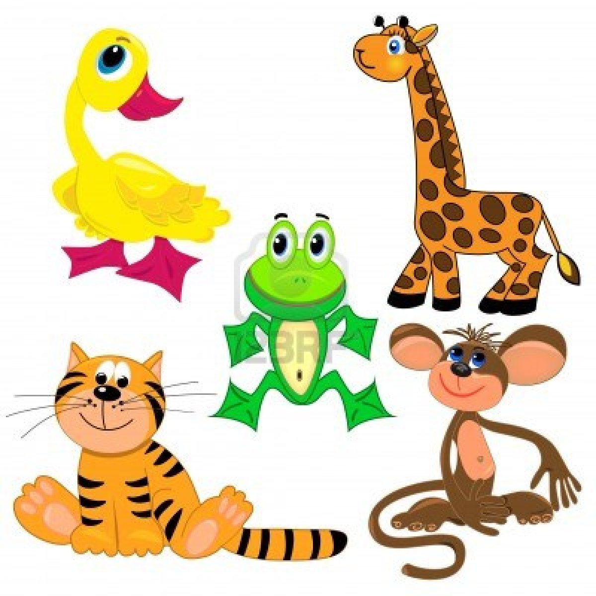 1200x1200 Clip Art Zoo Animals