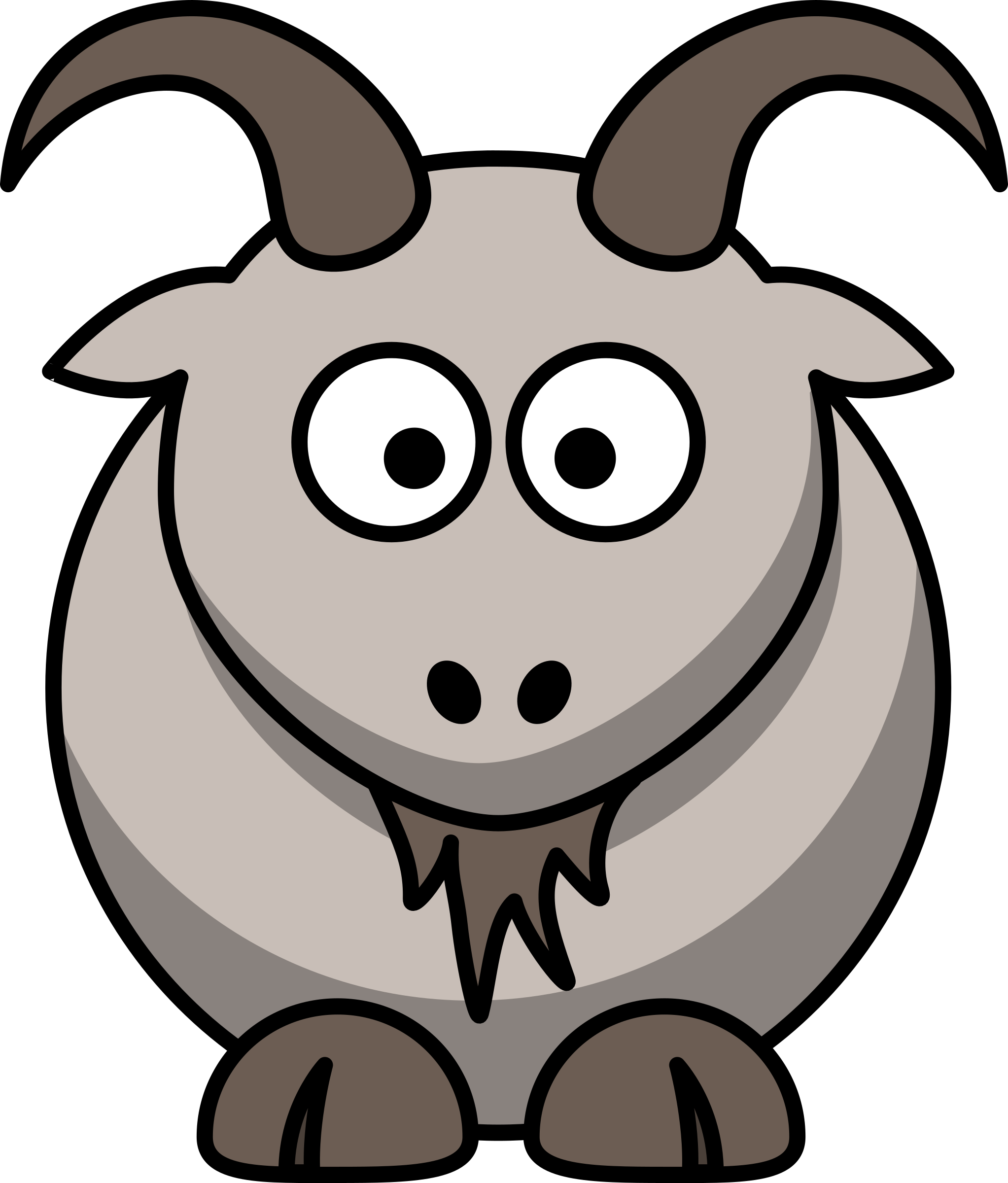 2045x2400 Impressive Goat Pictures Cartoon 6 Happy Vector Clip Art