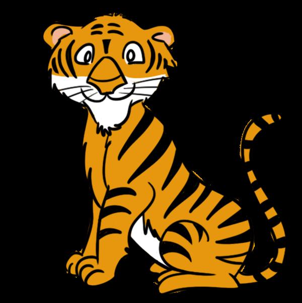 600x602 Tiger Clip Art Clipartlook