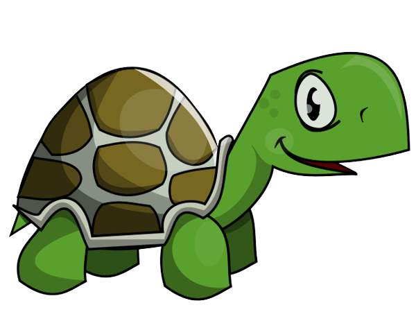 600x450 Cartoon turtle clipart free clip art images image 9 3