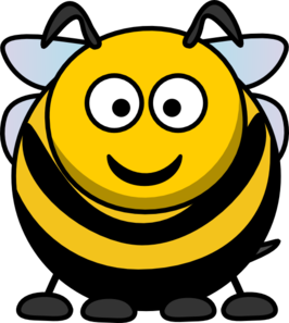 266x297 Cartoon Bee Clip Art