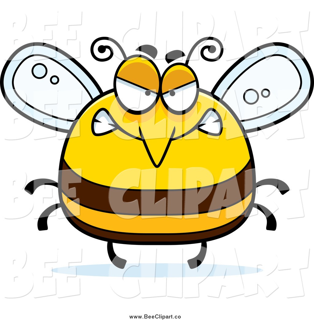 1024x1044 Cartoon Vector Clip Art Of A Chubby Mad Bee By Cory Thoman
