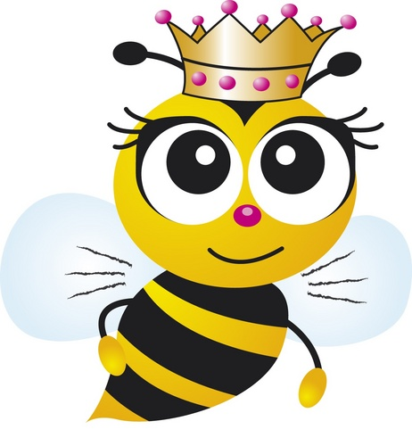 462x500 Queen Bee Cartoon Group