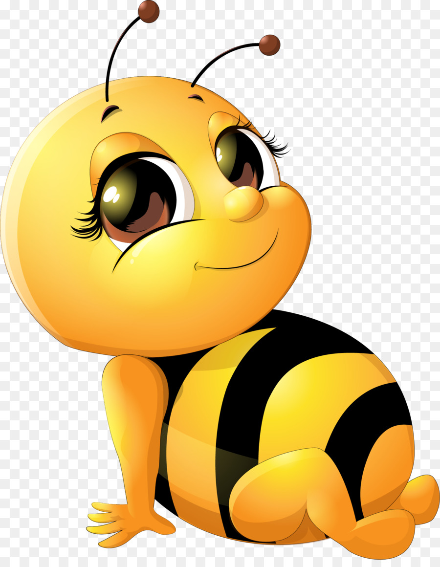 900x1160 Bee Cartoon Infant Clip Art