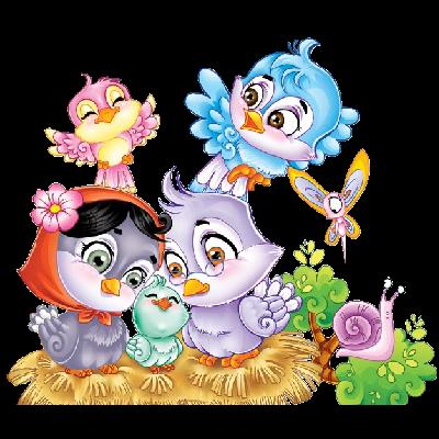 400x400 Cute Birds