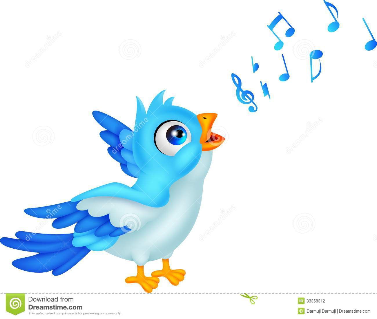 1300x1102 Singing Birds Clipart