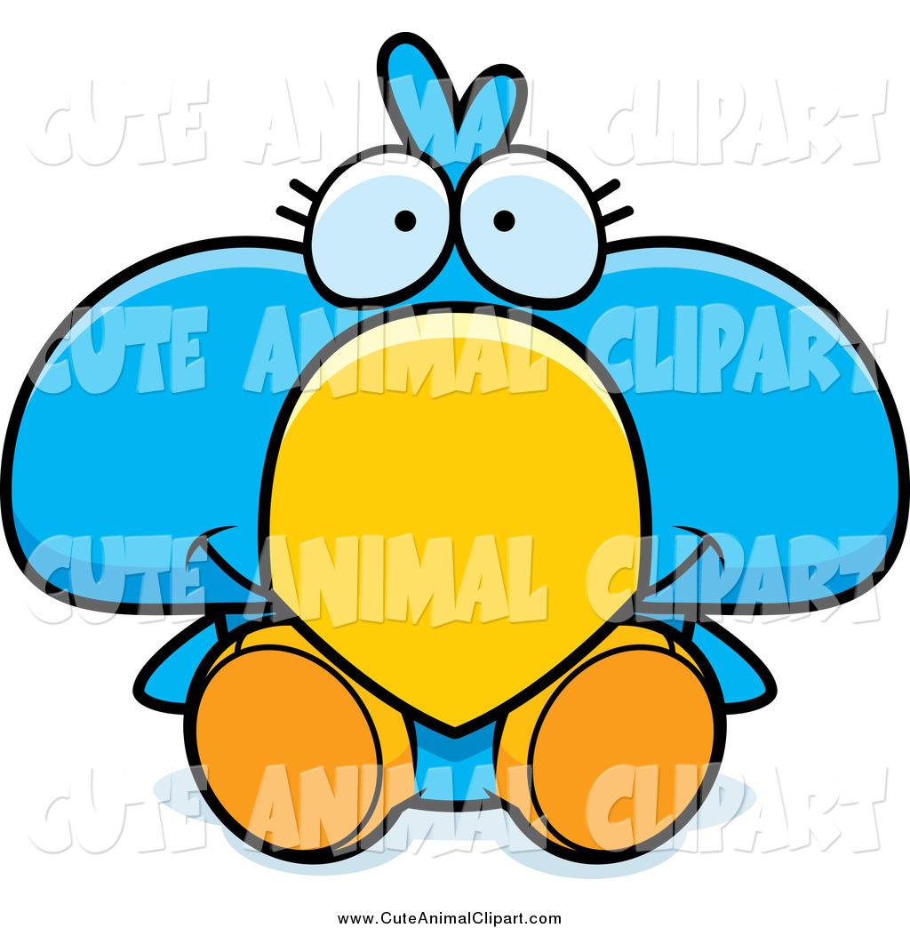1024x1044 Vector Cartoon Clip Art Of A Cute Blue Bird Sitting By Cory Thoman