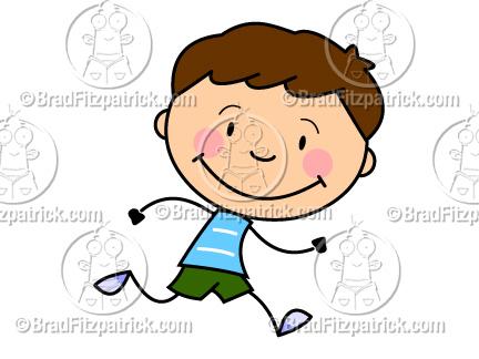 432x324 Cartoon Boy Running Clip Art Boy Running Clipart Graphics