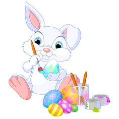 236x236 Cartoon Surprise Clip Art Easter Bunny Basket Stock Photo Stock