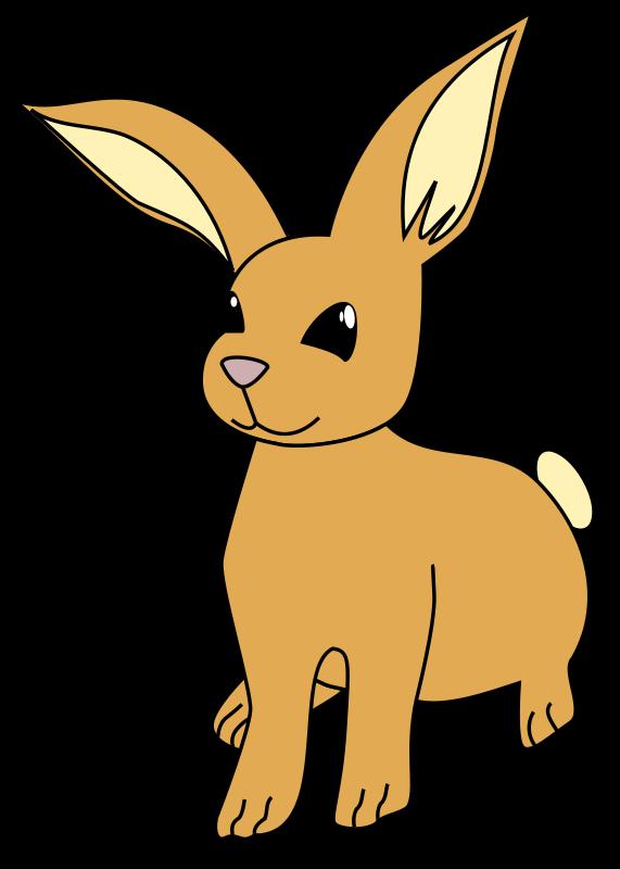 571x800 Cartoon Bunny Rabbit Clipart