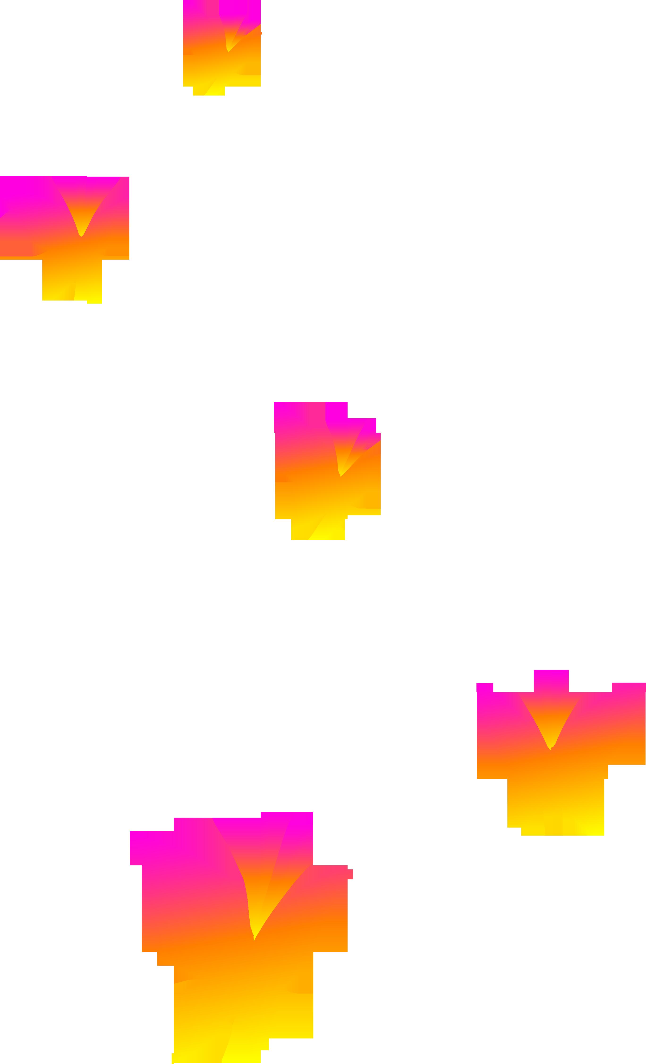 2736x4500 Clip On Butterflies