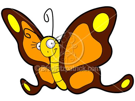432x324 Quinn Kepler The Cartoon Butterfly Clip Art