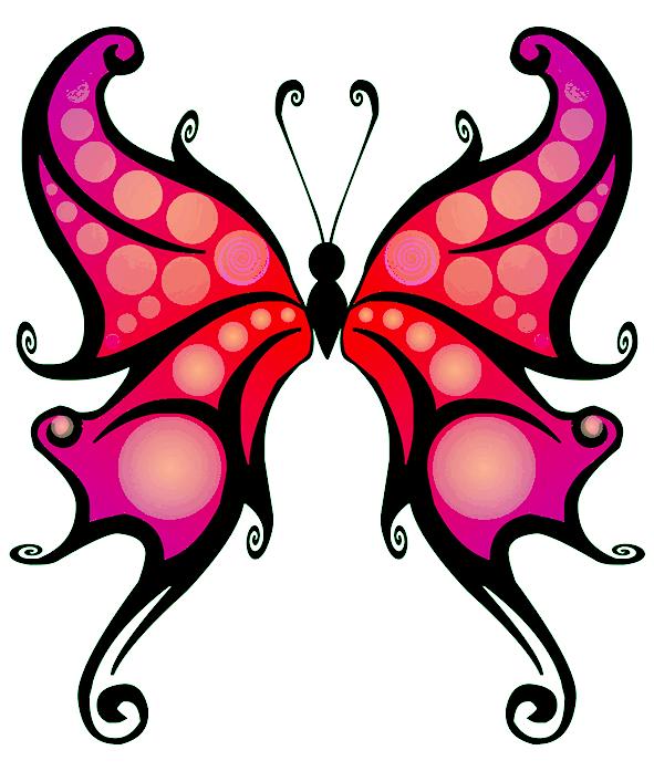 591x697 Butterfly Clipart Butterfly's Butterfly, Clip Art
