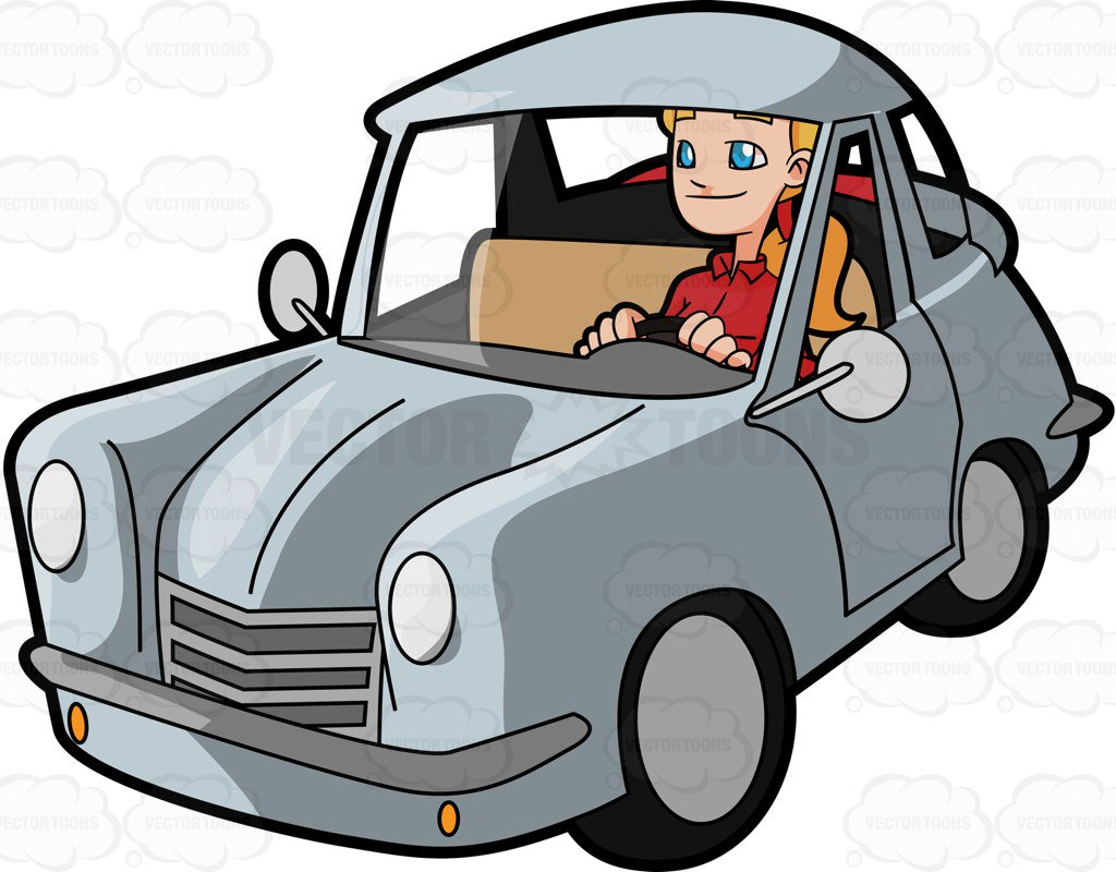 1024x800 Photos Cartoon Driving A Car,