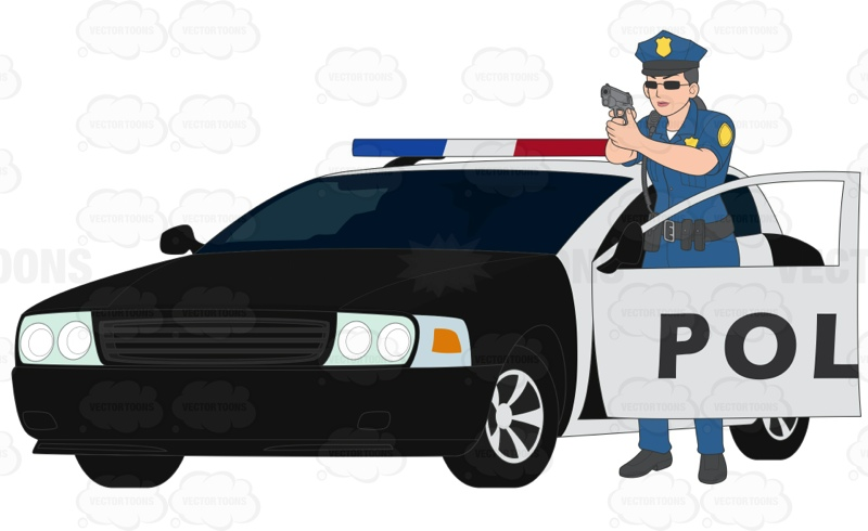 800x490 Splendid Police Car Clipart Black And White Rudycoby Net