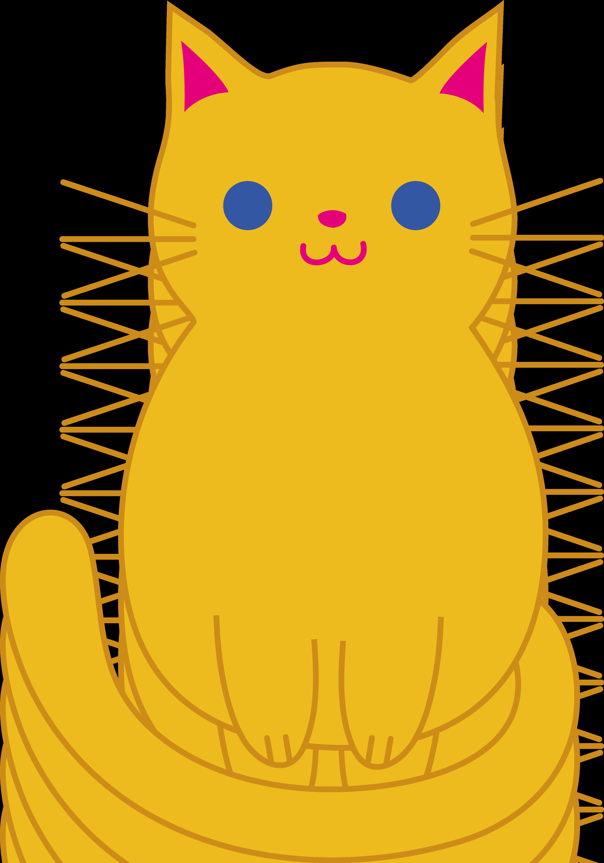 3528x5039 Fat Cat Clip Art Cute Orange Kitten Clip Art Cats