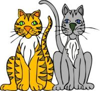 200x183 Free Cats Clipart