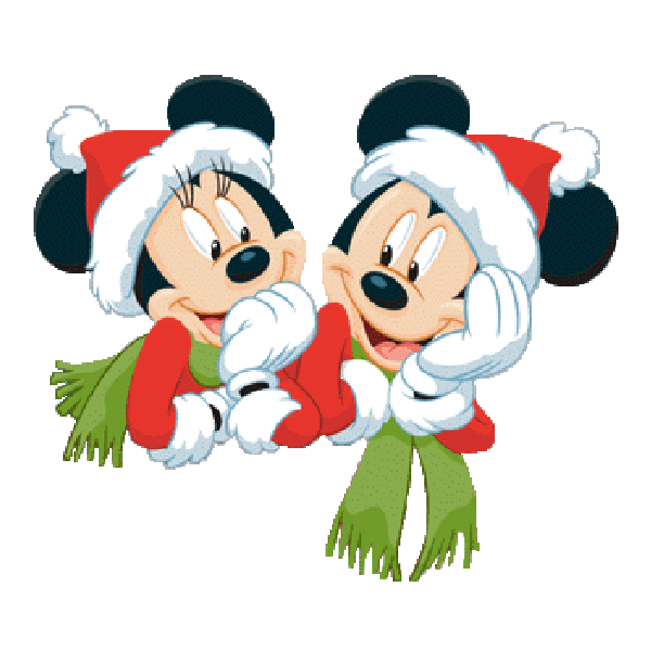 600x600 Mickey Mouse And Friends Xmas Clip Art Images Free To Copy