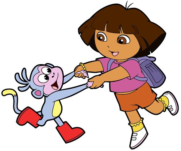 590x494 Dora The Explorer Clip Art Cartoon Clip Art