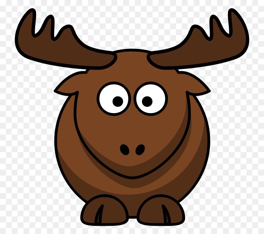 900x800 Elk Cartoon Clip Art