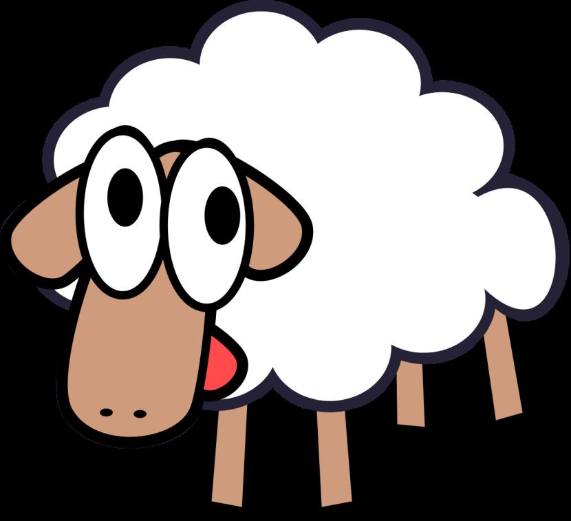 830x757 Sheep Clipart Animals Clip Art