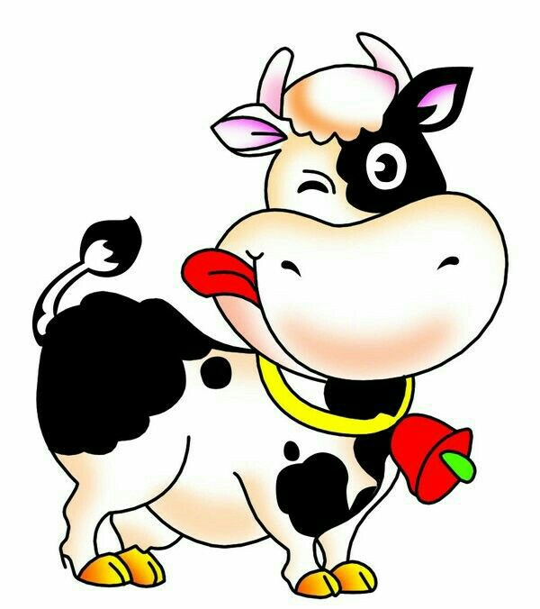 600x676 Cute Cow Clipart Lustige Tiere Cow Clip Art And Cartoon
