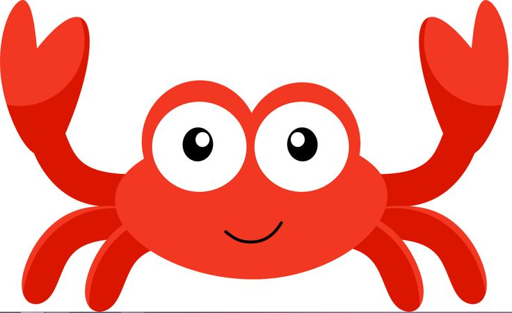 Cartoon Crab Clipart