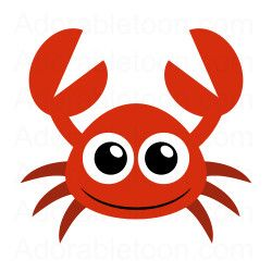250x250 Cute Crab Clipart From Sadie