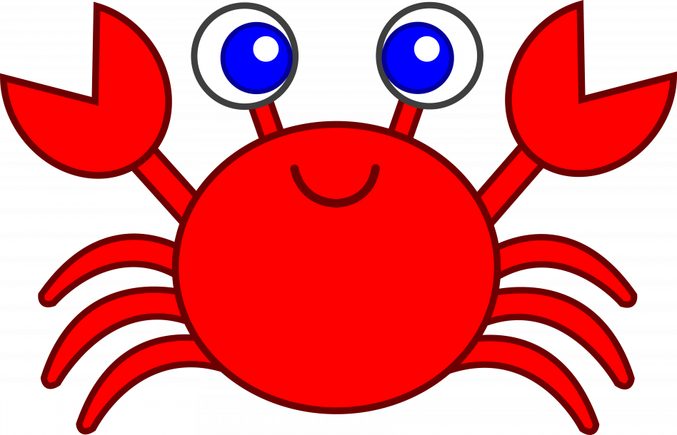 948x610 Best Crab Clipart Cute Cartoon Pictures Cartoons Free Blue Aksfm