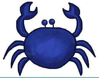 340x270 Blue Crab Clip Art Scamp Ideas
