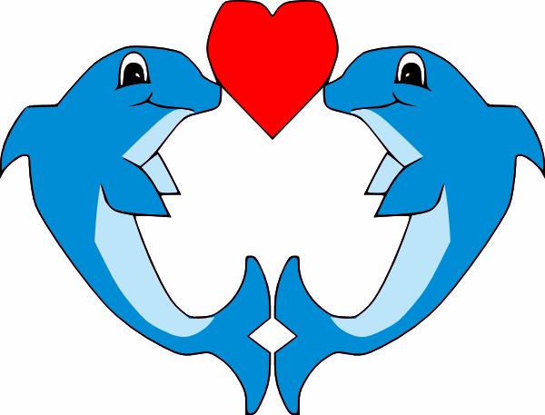 600x457 Dolphin Clipart
