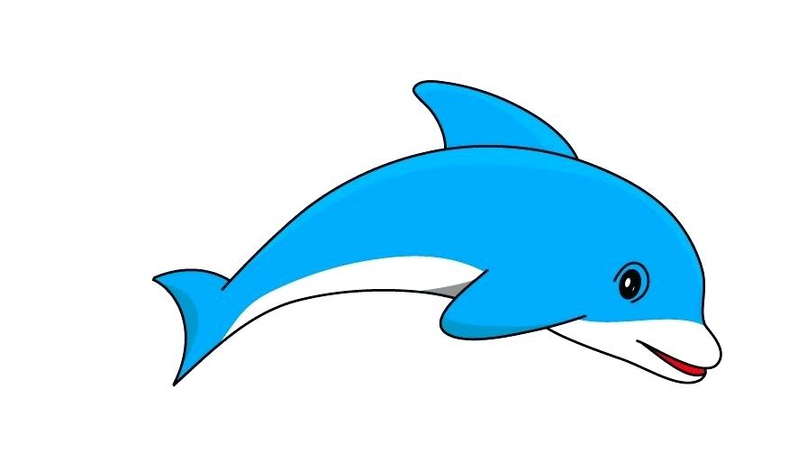 886x512 Free Dolphin Clip Art Luxury Free Dolphin Free Coloring Pages Free