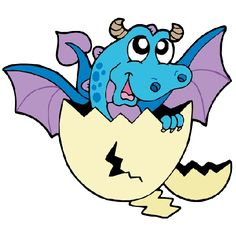 236x236 Cute Cartoon Dragons With Flames Cliprt Imagesre On