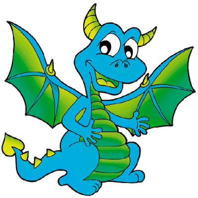 400x400 Funny Dragons