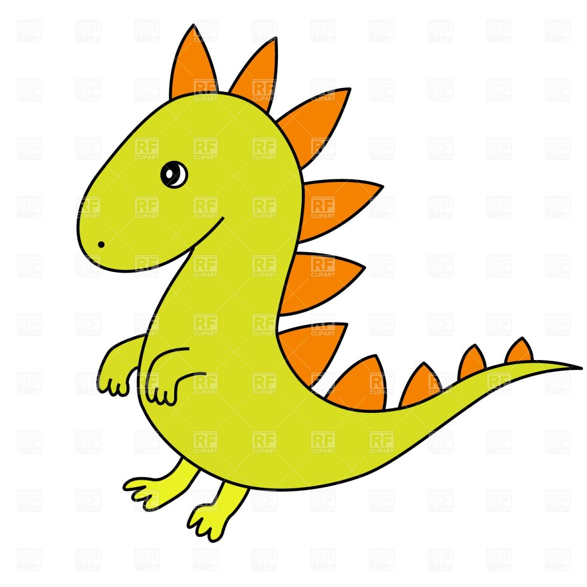 1200x1200 Cartoon Dragon Vector Image Vector Artwork Of Plants And Animals