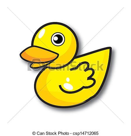 450x470 Cute Duck Drawing Clip Art