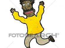220x165 Running Away Clipart Clip Art Of Cartoon Man Running Away