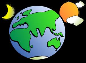 300x221 461 Planet Earth Clip Art Free Public Domain Vectors