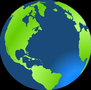 299x294 Planet Earth Clip Art
