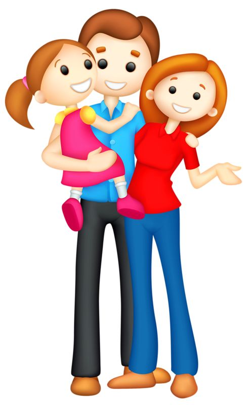 Cartoon Family Clipart