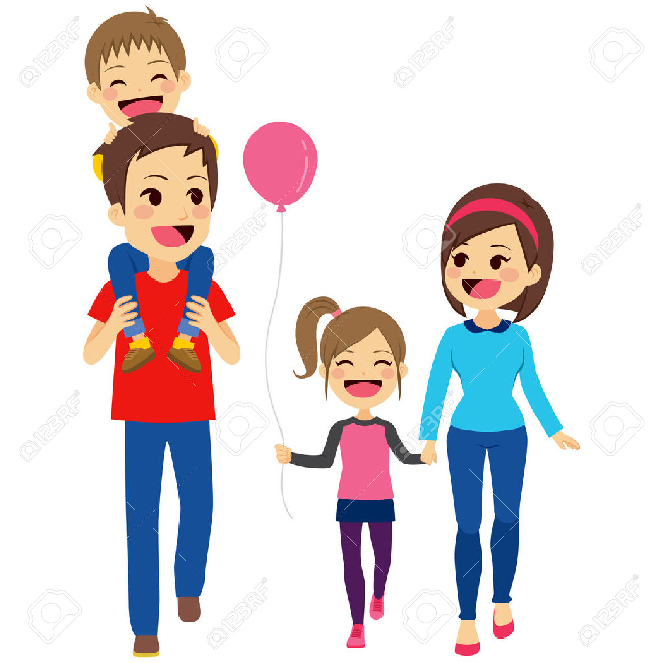 Cartoon Family Clipart At Getdrawings Com Free For Personal Use