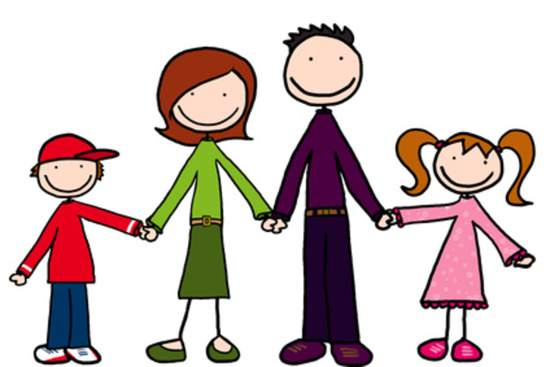 550x367 Cartoon Family Clipart Family Clipart
