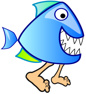 290x317 Collection Of Walking Fish Clipart High Quality, Free