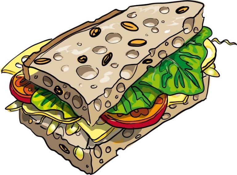 770x569 Free Food Sandwich Clip Art