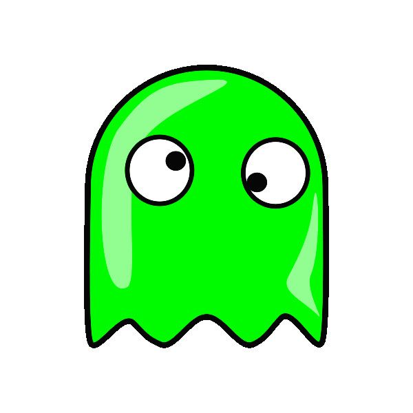 600x600 Free Ghost Clipart