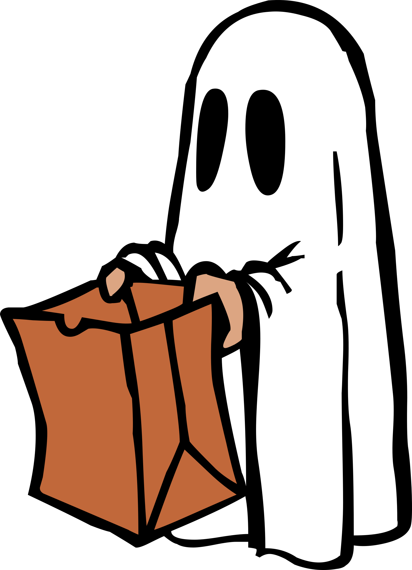 1733x2400 Marvellous Design Clipart Ghost Cartoon Favorites Clip Art Library